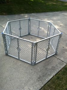 Excd North States 8 Panel Classic Superyard Baby Pet Gate Portable
