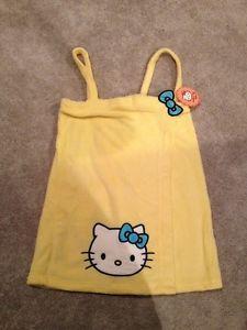 Hello Kitty Bath Towel Dress Wrap