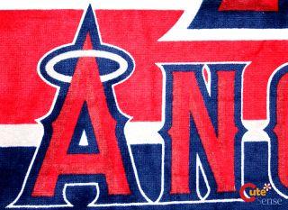 MLB Anaheim Angels Beach Bath Towel 30x60 Cotton Player Logo