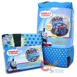Thomas Tank Engine Friends 4pc Twin Bedding Comforter Set with Sheet Set