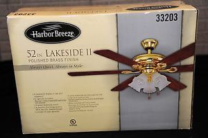 Harbor breeze replacement blades on popscreen harbor breeze 52 lakeside ii polished brass ceiling fan w 5 light kit aloadofball Gallery