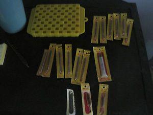 Gunslick gun cleaning supplies 22 45 30 brushes twin 60 loading board lot
