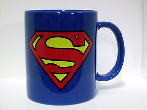 Superman Logo Blue Coffee Mug New DC Comics