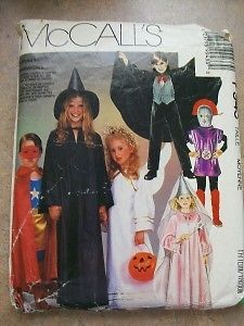 Halloween Costume Sewing Pattern Vampire Princess Alien