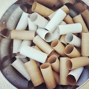 75 Tubes Clean Cardboard Tubes Toilet Paper Rolls Craft Supplies Projects