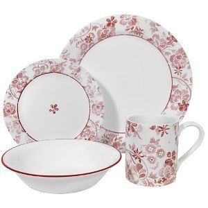 New Corelle Classic Touch Dinnerware Set 20pc
