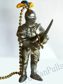 Knight Armor Medieval Ceiling Decor Fan Light Pull