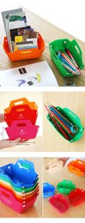 Easy DIY Desk PVC Tray Organizer Storage Pencil Stationary Receipt Accessories