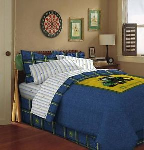 New 2011 John Deere Tractor Queen 5 Piece Bedding Set