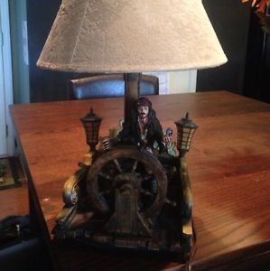 Pirates of The Caribbean at Worlds End Table Lamp