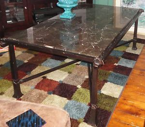 wrought iron coffee table on PopScreen