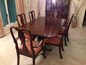 Ethan Allen Dining Room Set with China Hutch
