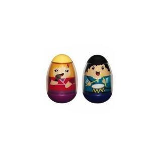 Weebles 24423 Pack Lot 2 Figurines Playskool Hasbro