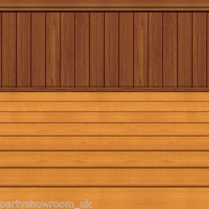 Cowboy Western Wild West Saloon Bar Scene Setter Room Roll Wooden Floor