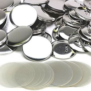 S&S Replacement Button Parts With Mylar, 100/Pack