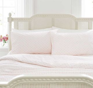 Pink Spotty Girls Bedding Bed Linen Duvet Quilt Cover Set or Fitted Sheet