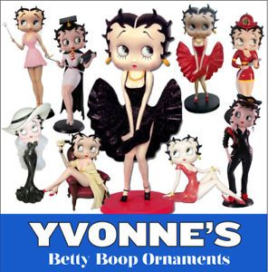 Betty Boop Figurines Figures Ornament New Boxed