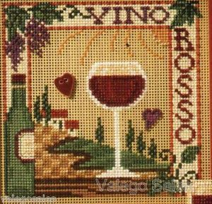 Mill Hill Buttons Beads Cross Stitch Kit Vino Rosso