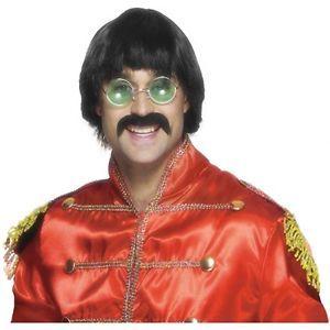 Sonny Wig Mustache Set Adult Mens 70's Bono Halloween Costume Accessories
