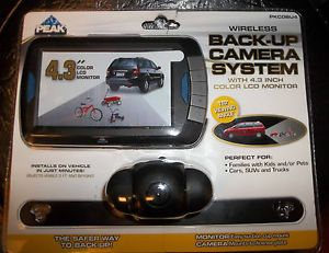 Peak Back Up Camera System with 4 3 inch Color LCD Monitor PKCOBU4 New