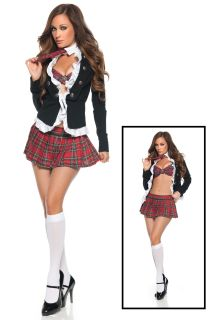 Adult Super Sexy School Girl Costume
