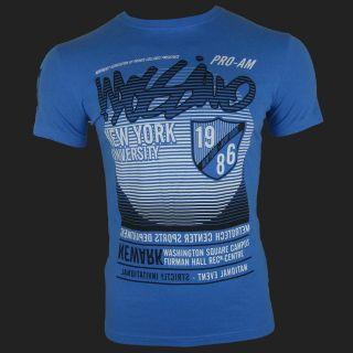 Mossimo Mens Metrotech Tee Designer T Shirt Patriot Blue s XXL Free Gift