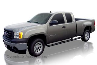 """2000 Current Ford F 350 Crew Cab 8ft Long Bed Raptor 4"""" Black Oval W2W Nerf Bars"""
