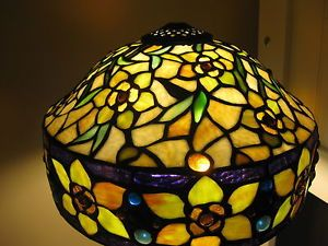 Beautiful Stained Glass Tiffany Style Lamp Shade