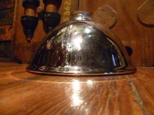 Antique Mercury Glass Shade Industrial Lamp Machine Light Free SHIP Mirror Shade