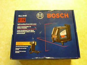 Bosch GLL 2 45 Self Leveling Long Range Cross Line Laser 150ft New in Box