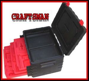 1 Brand New Craftsman Hand Tools PVC Tool Box Chest