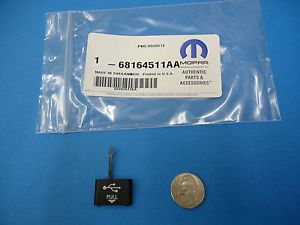 Mopar 68164511AA USB Port Cap Cover 2011 12 13 Chrysler Dodge Jeep RAM Radio