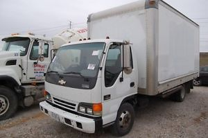 Isuzu NPR Chevy W4500 16ft Box Truck Diesel 5 Speed Manual