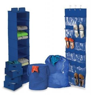 Honey Can do Closet Dorm Organization Solution Kit Home Storage Stand Rack New