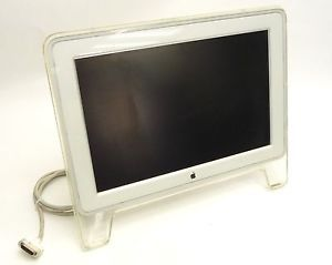 "Apple A1038 Cinema Display 20"" Mac G4 G5 ADC Widescreen LCD Flat Panel Monitor"