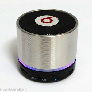 Hot Wireless Bluetooth Portable Mini Speaker for iPhone 3 4 4S 5  MP4 iPod PC