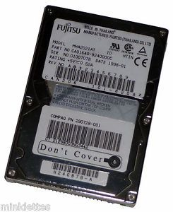 "2 1GB Fujitsu MHA2021AT 2 5"" IDE PATA Laptop Notebook Hard Drive Certified A 102646242957"