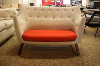 poet sofa by finn juhl for onecollection modern design within reach dwr