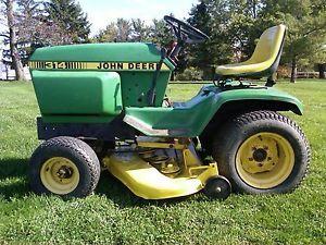 1979 John Deere 314 Garden Tractor JD Riding Lawn Mower