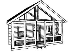 Log Cabin Kit Log Home Kit