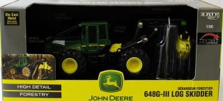 Britains John Deere 648 GIII Log Skidder 1 50 Scale Diecast Farm Model 15817