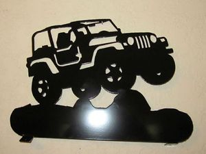 Lifted Jeep Mailbox Topper Metal Art Plasma Art