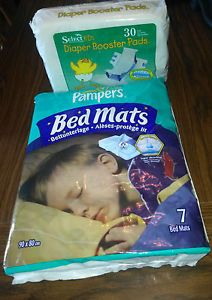 Pampers® Disposable Bed Mats Select® Booster Pads Adult Diapers AB DL