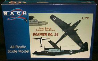 1 72 Mach 2 Dornier do 26 German WWII Seaplane
