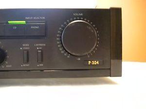 Onkyo Integra Model P 304 2 Channel Stereo Preamp Processor Amplifier