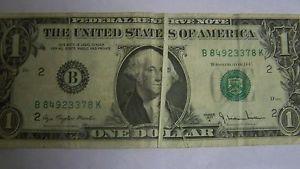 1 Dollar Bill Star Note