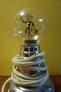 ... RARE Antique Redi Reddy Kilowatt Unique Light Bulb Night Light ...