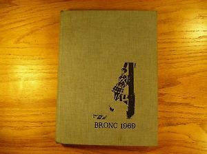 1969 High School Yearbook Sheridan Wyoming Ships Free 2U