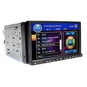 DVD CD Car Radio Stereo Touchscreen Player Double DIN