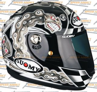 Suomy Vandal Chain Full Face Motorcycle Helmet 2X Large